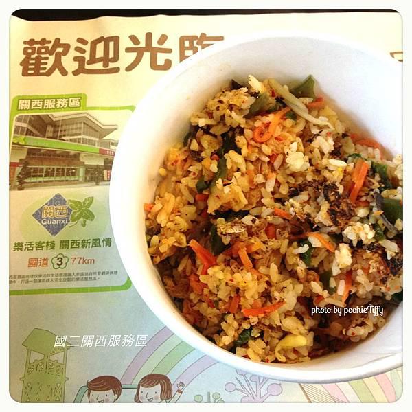 20130210 關西休息站-素菜石鍋拌飯