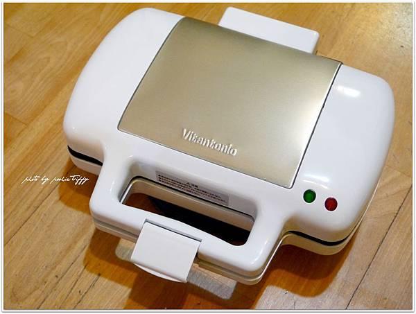 Vitantonio鬆餅機開箱 (4)