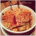 20130531 Capriciossa Seafood Spaghetti