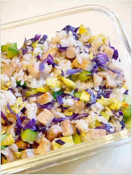 「紫高麗菜綜合炒飯」