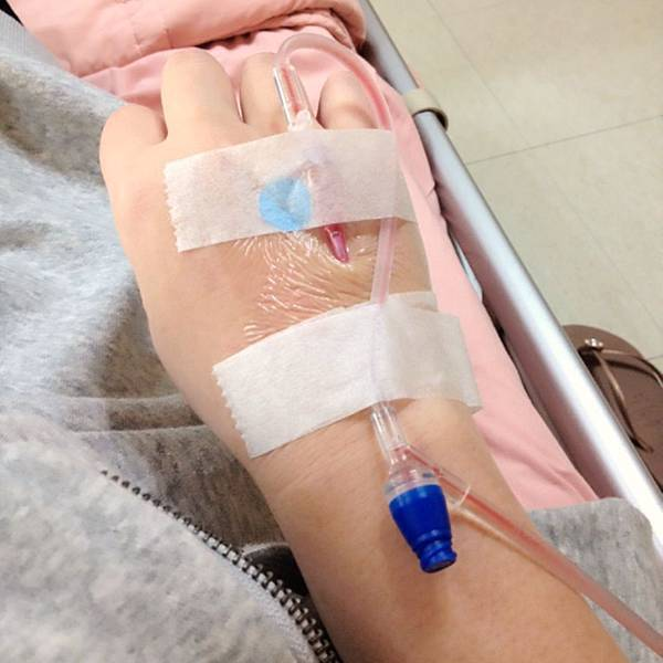20140413 腎盂腎炎住院