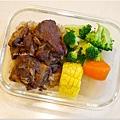 No.76「高昇排骨。清燙花椰菜。清蒸玉米。糙米飯」
