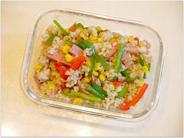 No.84「雙椒餐肉炒飯」