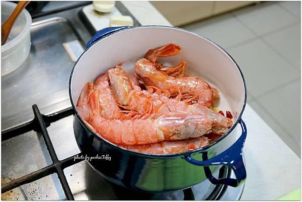 20160612 白酒胡椒大紅蝦