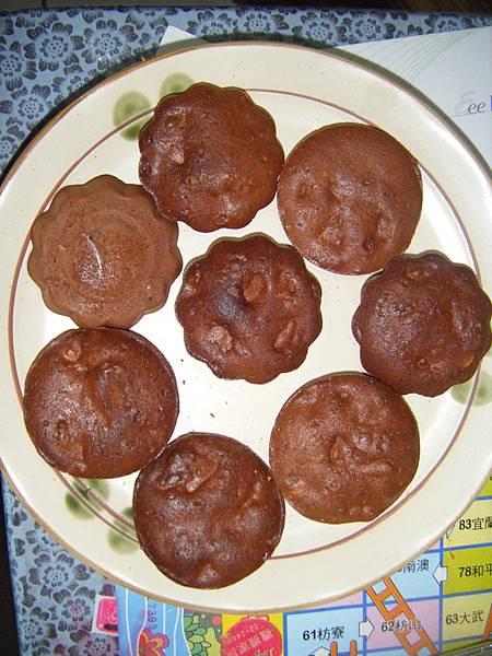 手工巧克力核桃餅