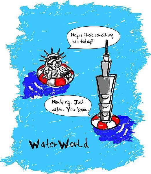插畫.水世界