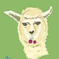 插畫.就是一隻羊駝