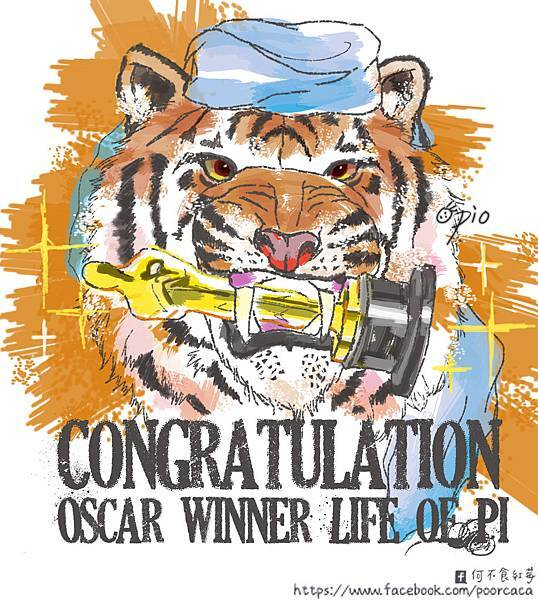 Congraduation Oscar winner Life of pi