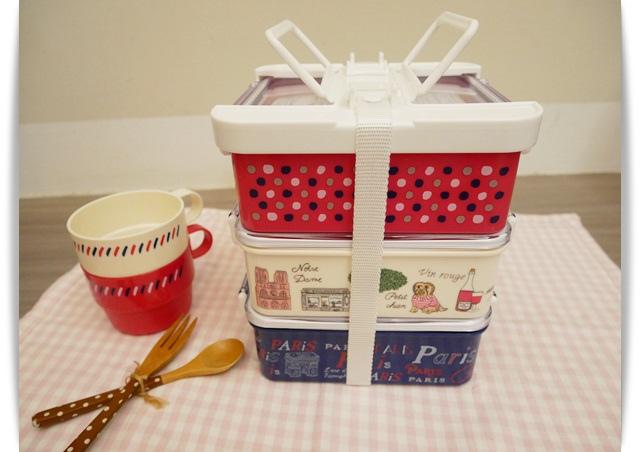 Afternoon tea野餐盒好有質感