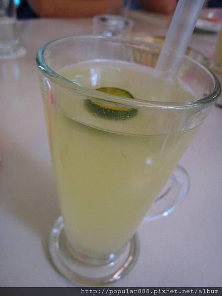 套餐飲料:蜂蜜檸檬蘆薈