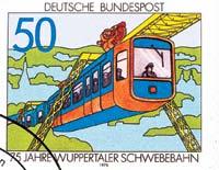 德國 火車郵票