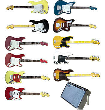 F-TOYS Fender Guitar Collection 2