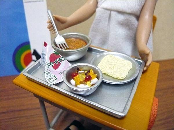 當日營養午餐菜色~