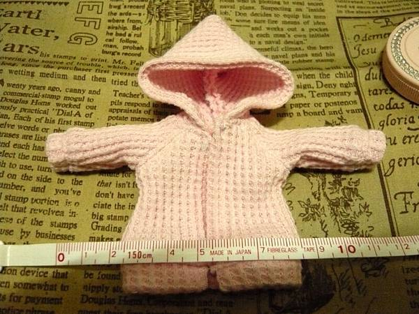 粉紅連帽外套