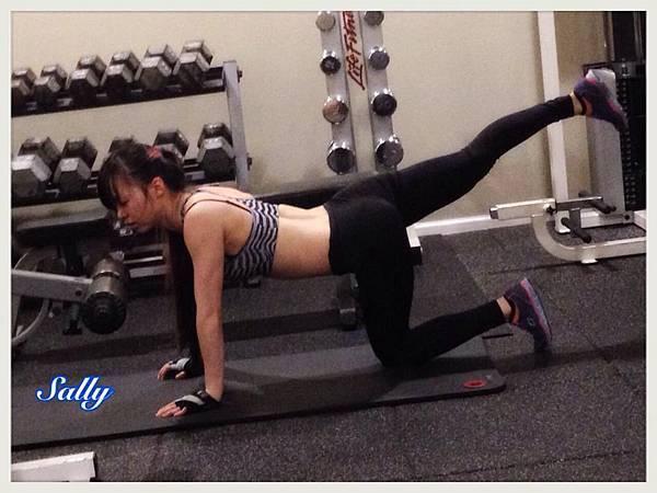 莎莉健身狂的健身碎碎念