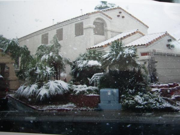 下雪的VEGAS