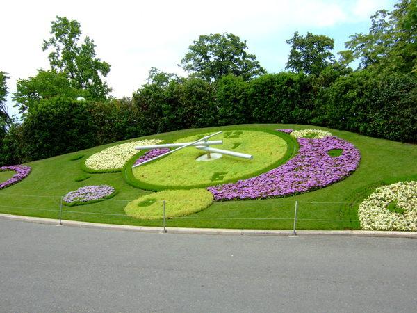 英國花園的花鐘