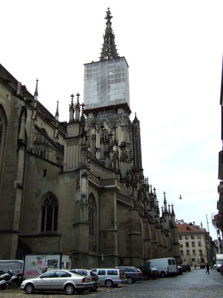 瑞士最高的教堂(100公尺左右吧)
