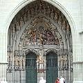 教堂門口的雕像---最後的審判