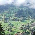 住在Grindelwald的YH的view,海拔1000公尺