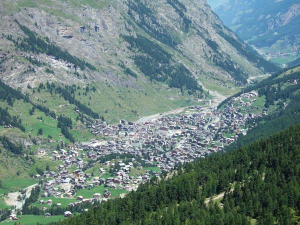 Zermatt城鎮