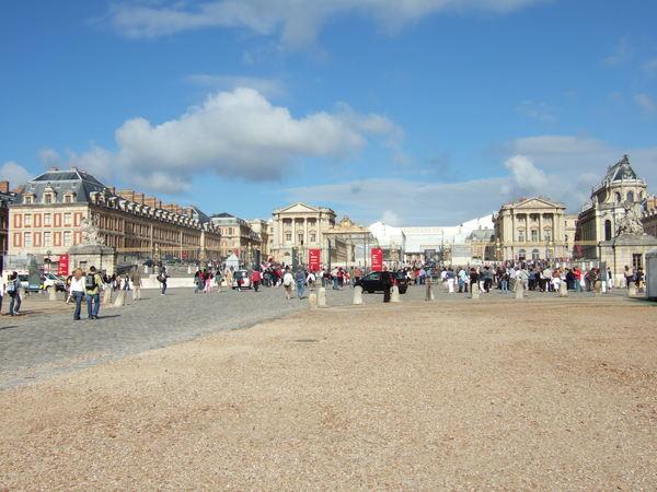 凡爾賽宮入口
