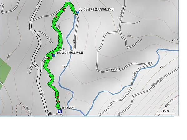 磺溪溫泉步道