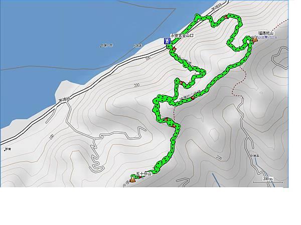 三峽 油桐花 五十分山 福德坑山