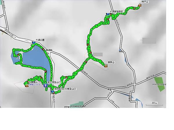 白鷺鷥山 大湖公園 康樂山 柿子山