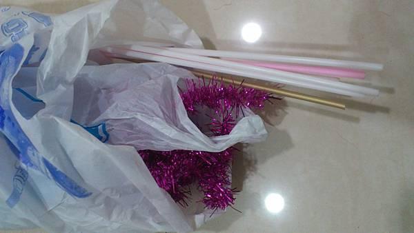 金蔥條與氣球棒