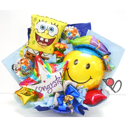 海綿寶寶 畢業氣球組合.jpg