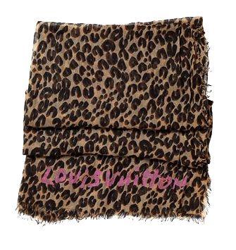 LV限量圍巾