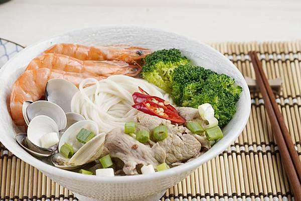seafood noodles