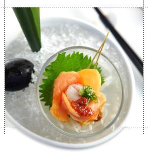 燻鮭魚干貝