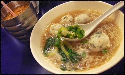 紫菜墨魚丸米 + 凍奶茶.jpg