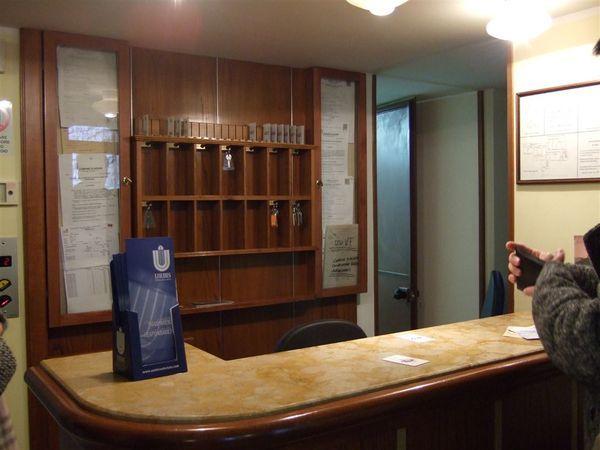 我們住的旅館櫃檯
