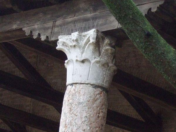 拜占廷款式的柱頭
