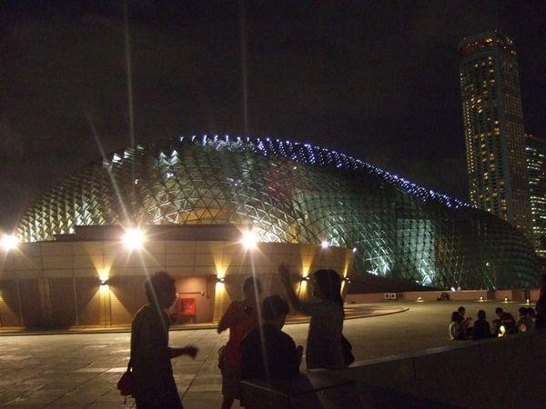 濱海藝術中心的頂樓