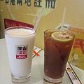 忌廉溝鮮奶/凍檸茶