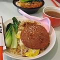 XO午餐肉煎蛋公仔麵