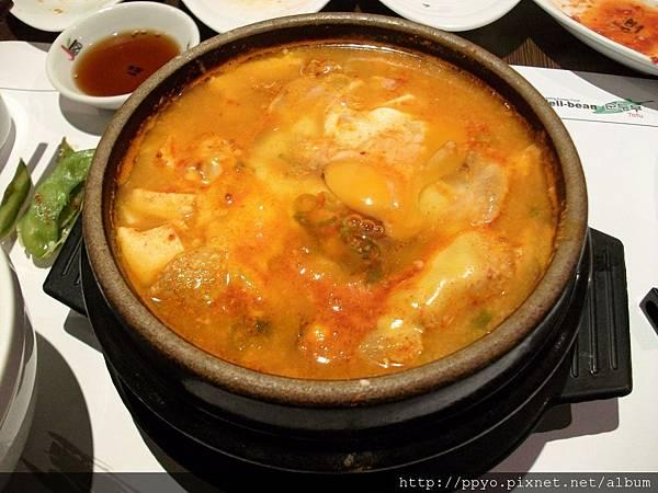起司嫩豆腐煲 小辣