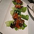 韓式辣味牛肉手捲 Spicy Beef & Oak Leaf Roll