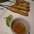 沙嗲活菌豬串燒 Grilled Spicy Bifidus Pork with Sate Sauce