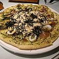 明太子透抽比薩 Mentaiko & Squid Pizza