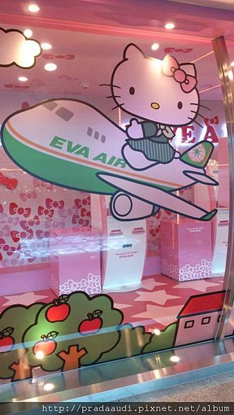 這次又搭kitty機^^