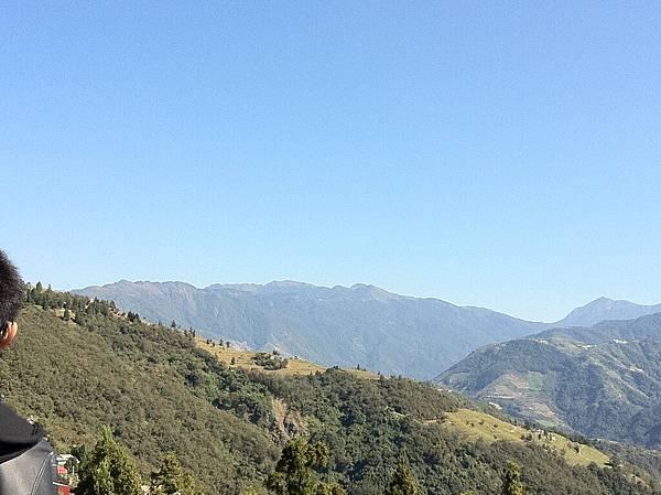 這邊是合歡山