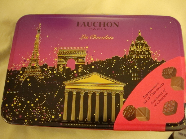 法國百年甜點老店Fauchon的巧克力