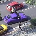 紫色消光GT-R
