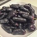 形狀奇怪的葡萄