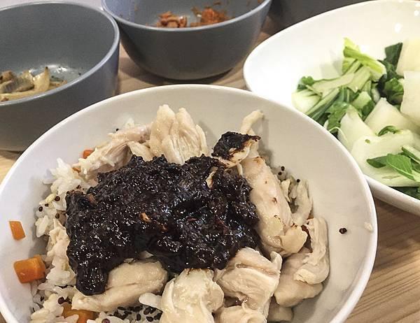 味噌蔥醬雞